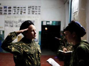 俄罗斯学生军训是怎样的?