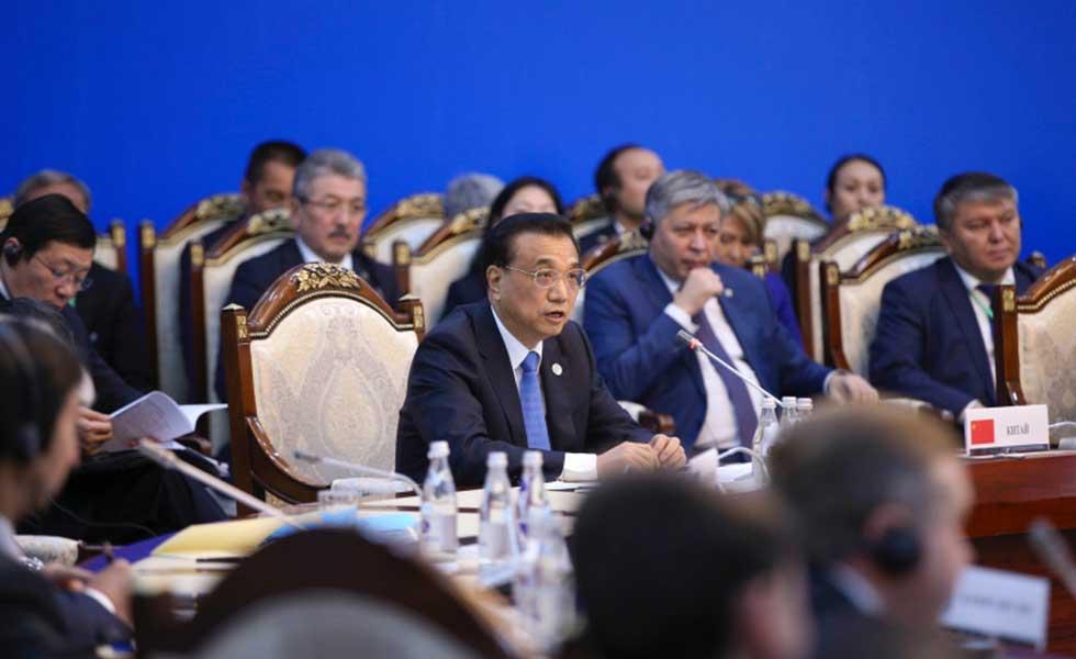 李克强就上海合作组织未来发展提出六大倡议