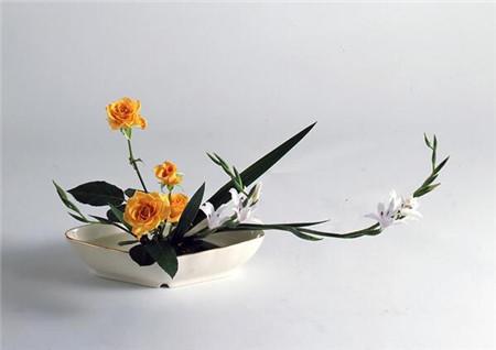 5.对称型插花