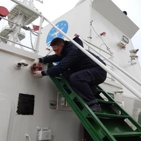 中國海監 全體船員 安全員 關於開展安全工作自查的通知 安全隱患 消防安全知識 防火防爆 塢修 認真學習 船舶安全