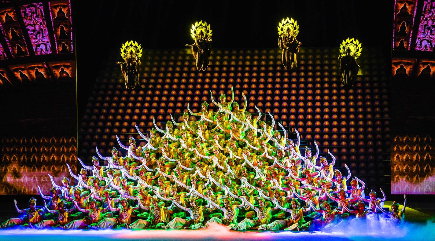 敦煌事业之敦煌大剧院:跳动的艺术宝贝