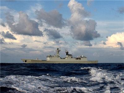 盐城舰抵达新西兰 东盟海上联演即将展开