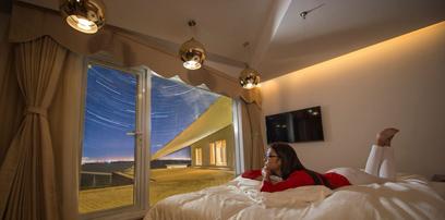 响沙湾莲花酒店:大漠第一湾 我的第二家