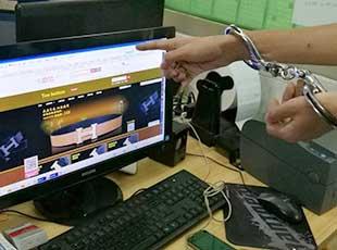 男子开网店卖假奢侈品被抓 三个月卖货值200万元