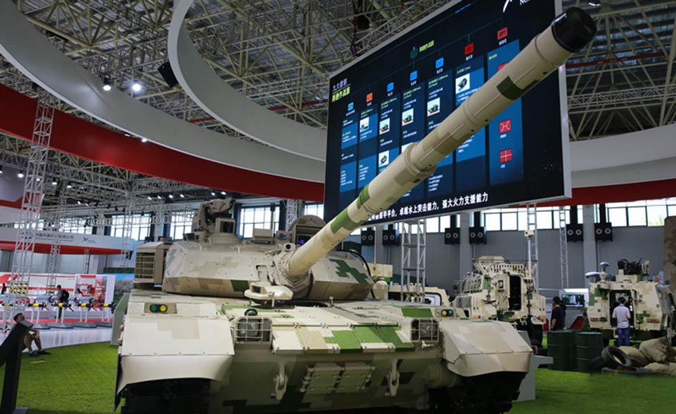 中国陆军装备最强战力 震撼亮相珠海航展