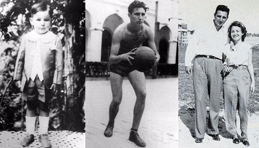 卡斯特罗儿时和青年时代珍贵照片曝光
