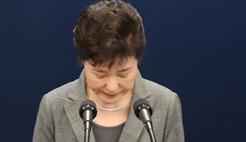 朴槿惠称将按朝野建议和法律程序辞去总统职务