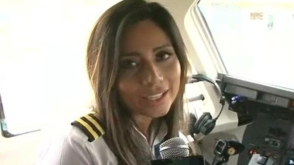 哥伦比亚空难女副驾驶照片曝光 起飞前刚接受采访