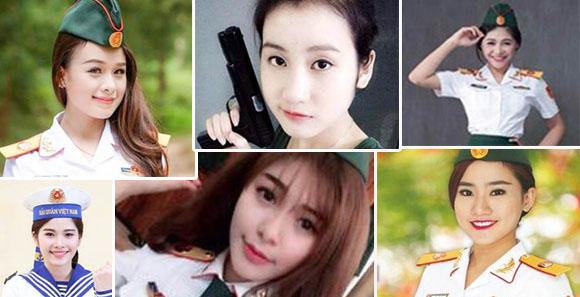 越南军队文艺大学美女如云 群芳争艳