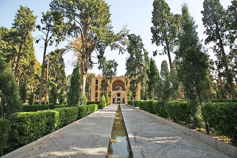 伊朗:费恩花园之花园布局