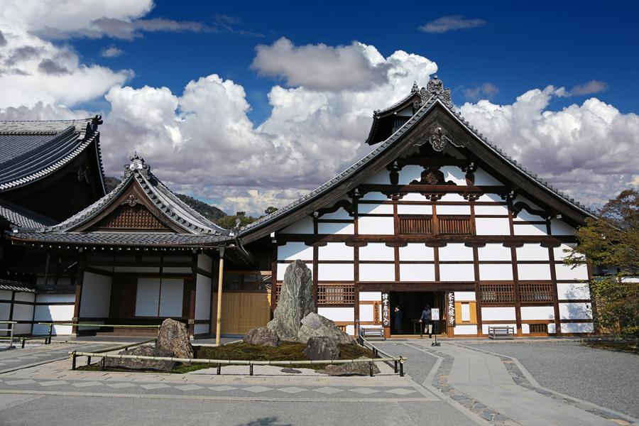 京都:天龙寺之建筑造型