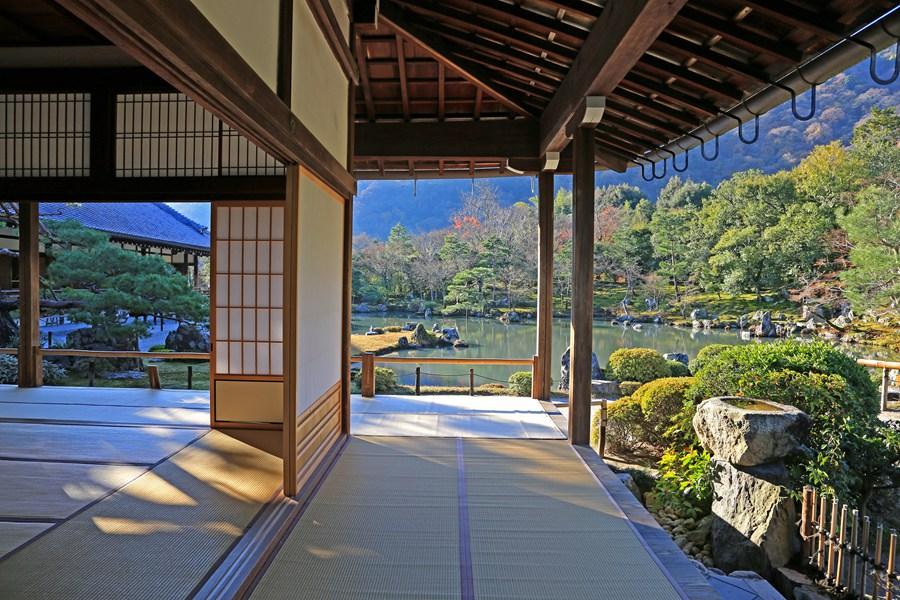京都:天龙寺之内部结构