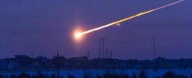 不明发光体飞掠俄哈卡西共和国上空