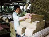 """三峡库区最老""""造纸坊"""" 父子坚守手工造纸"""