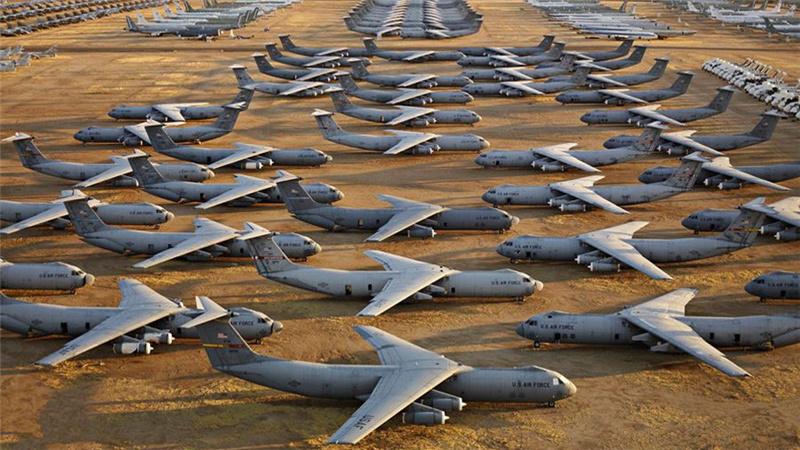 中国军迷拍美战机坟场:含现役预警机