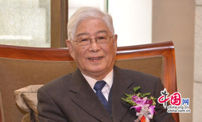 当代著名教育学家、中国教育学会名誉会长、北京师范大学资深教授顾明远