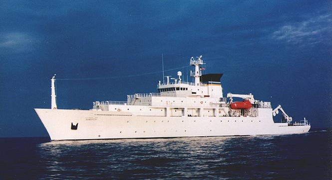 """美国""""鲍迪奇""""号在中国出名了,是艘啥船?"""