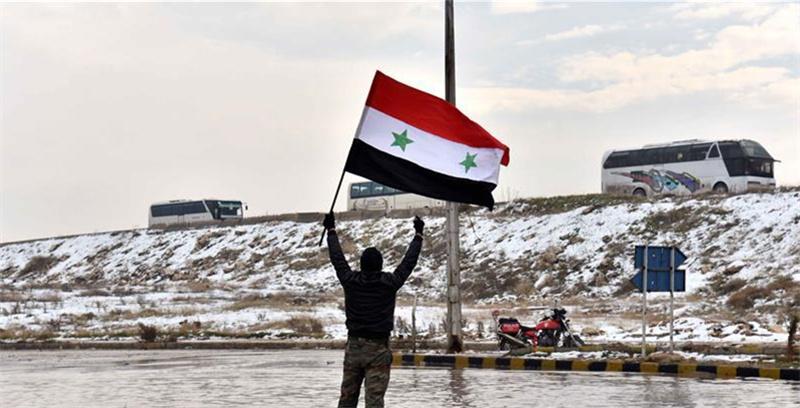 最后一批反政府武装撤离叙利亚阿勒颇