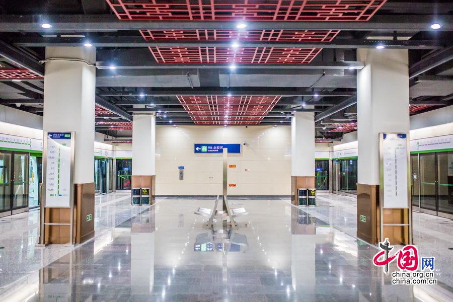 正式运行倒计时 探秘京港地铁16号线[组图] - 轨道交通、地铁、高铁 - 轨道交通、地铁(轻轨)、有轨电车、高铁