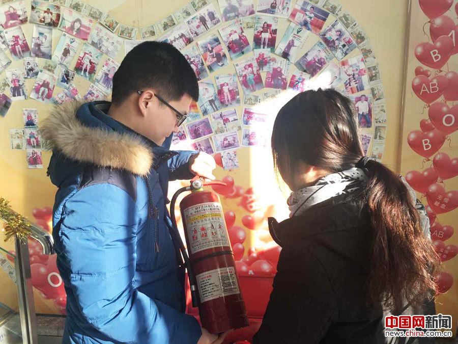北京西城红会邀请专职安全员开展节前安全检查