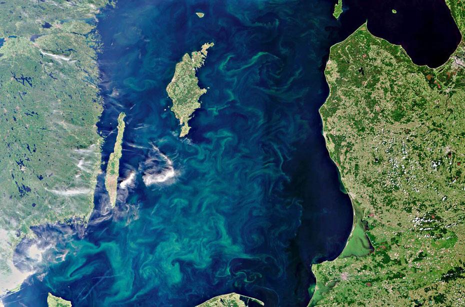 从太空看地大物博的俄罗斯 景色简直美呆