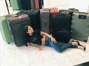 泰国女子带300公斤行李参赛