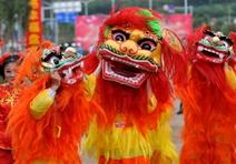 中国民间艺术:舞龙舞狮