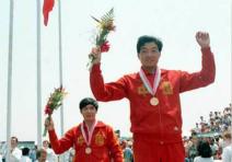 历届奥运会中国队首金
