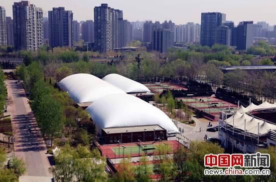 北京体育文化产业集团携手约顿气膜造环保体育