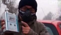 汽车尾气能降雾霾?网传视频不可信 便携检测仪不能测尾气