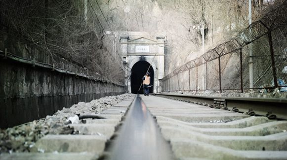 铁路打冰人的生活