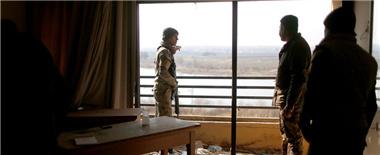 摩苏尔酒店从IS手中夺回时已经残破不堪