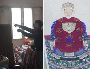 广东700年历史祖传画被盗 价值百万