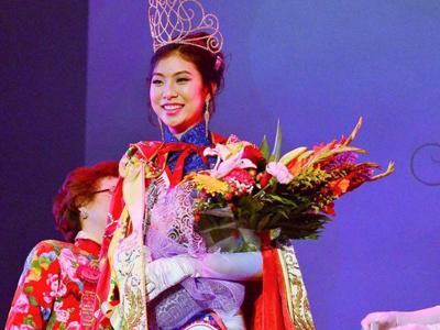 全美华埠小姐进入60年哈佛18岁女生杨开润夺冠