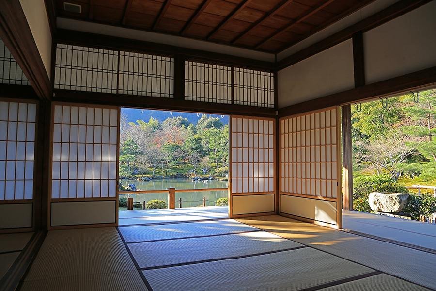 京都:天龙寺之内部结构(二)