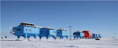 """南极冰缝增多 英国科考站被迫""""搬家"""""""