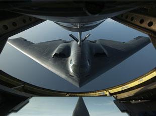 新视觉体验:来看战斗机上的航拍图