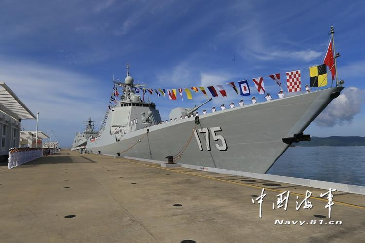 中国海军2016年入役军舰全览