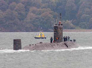 英国核潜艇老旧不堪 情况不乐观