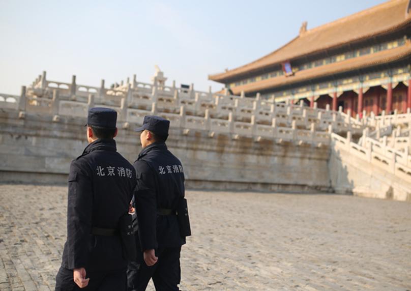 探访故宫特勤消防中队