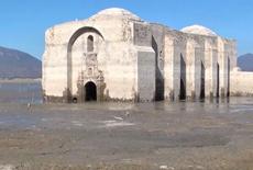 """墨西哥""""重现江湖""""古教堂航拍画面"""