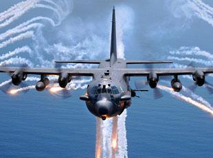单机可灭上百目标:AC-130将配激光炮