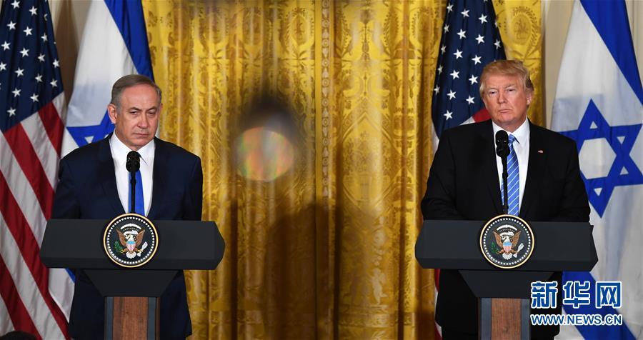 """特朗普称实现以巴和平不限于""""两国方案"""""""