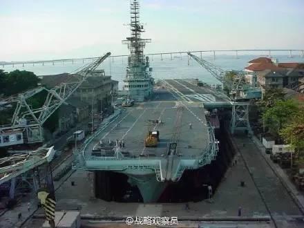 巴西海军放弃现代化计划 退出拥有航母国家之列