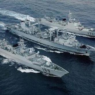 亚丁湾护航编队