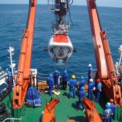 载人深潜团队