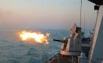 看!东海舰队某部驱护舰编队红蓝双方自由搏杀