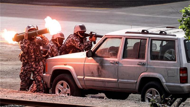 第十三届阿布扎比国际防务展开幕