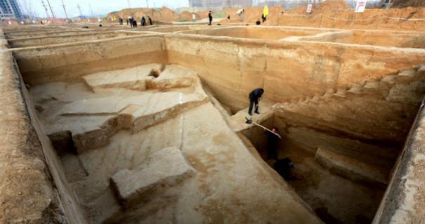 河南发现首个春秋战国都城瓮城 罕见保存完好
