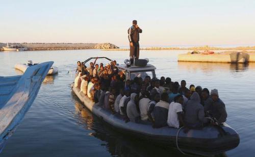 意大利展开7项救援行动 利比亚岸外730船民获救